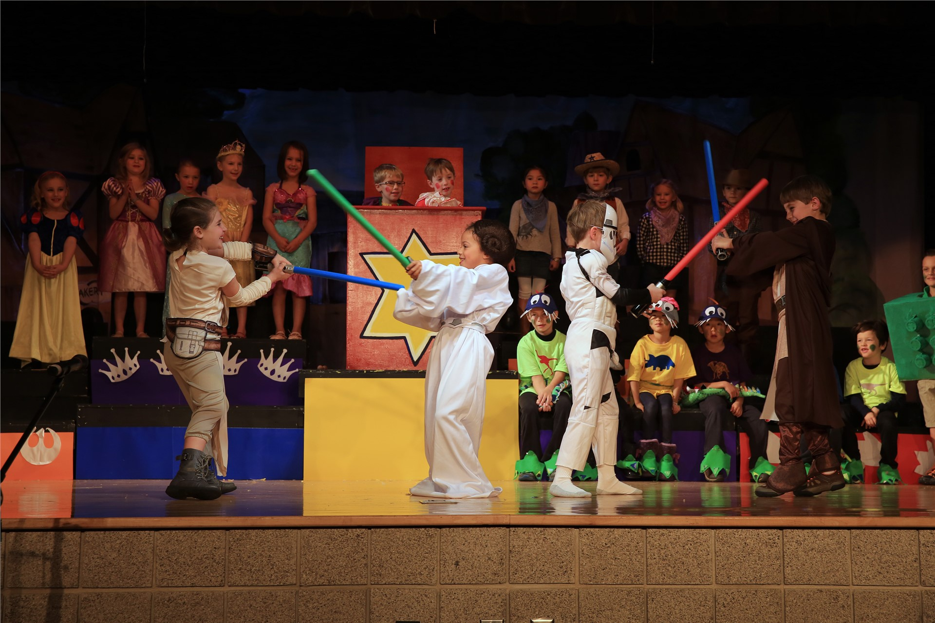 1st grade play: Mr. Popinger's Toy Shop