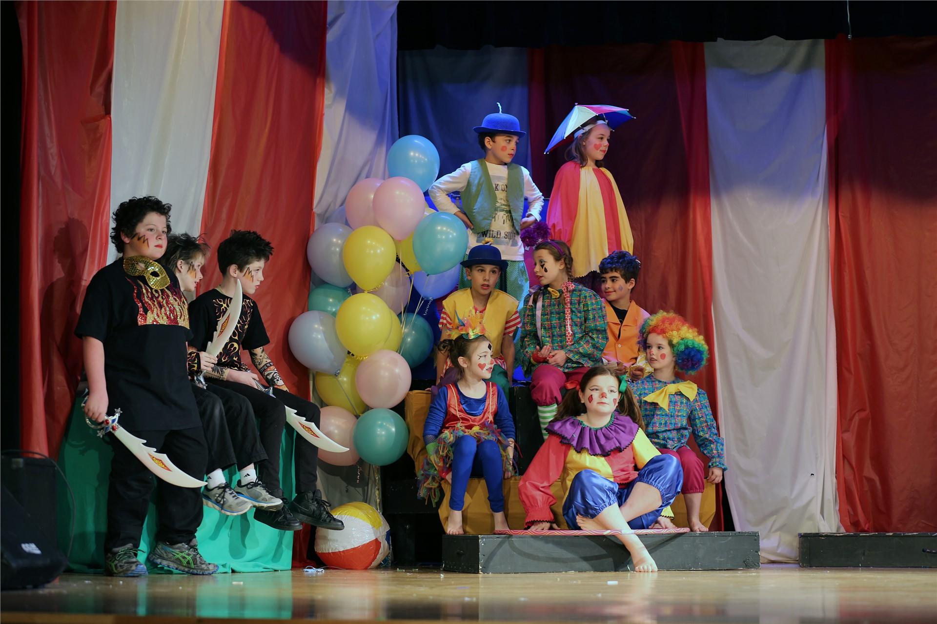 3rd Grade Play: Circus!Circus!