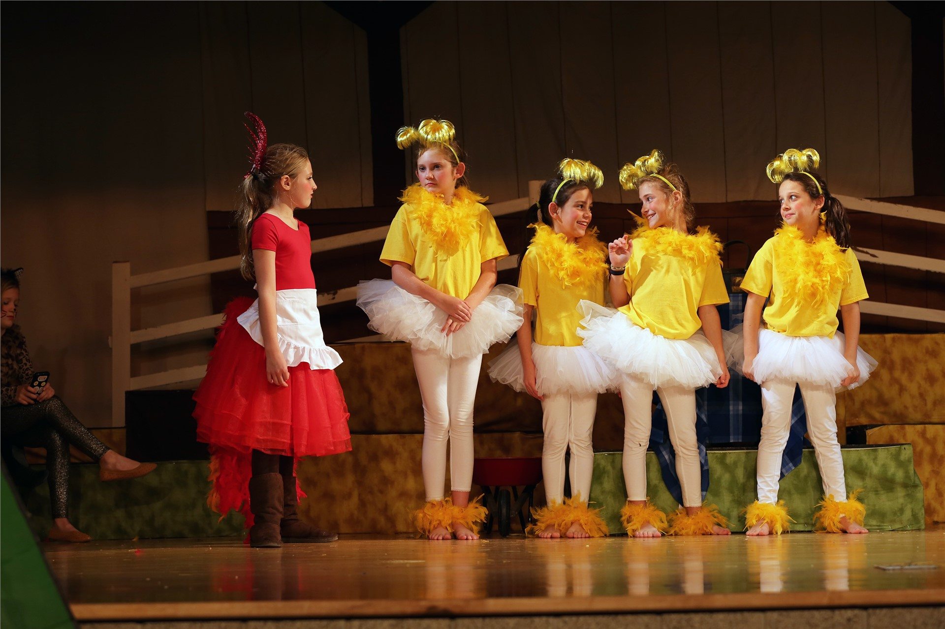 4th Grade Play: Little Red Hen