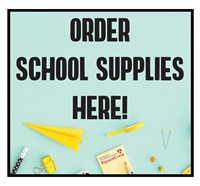 TAS School Supply Fundraiser Logo